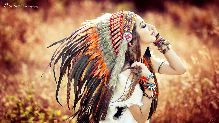 Photograph Boho Girl - Inspire of fire by Chu?i Guevara on 500px