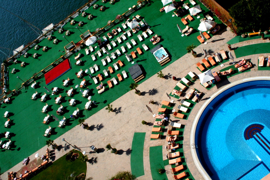 Photograph View of the pool by Helen Bailey on 500px