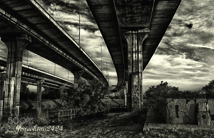 Beneath the bridge by Jose Maria Ramos Montero (Josechino2424) on 500px.com