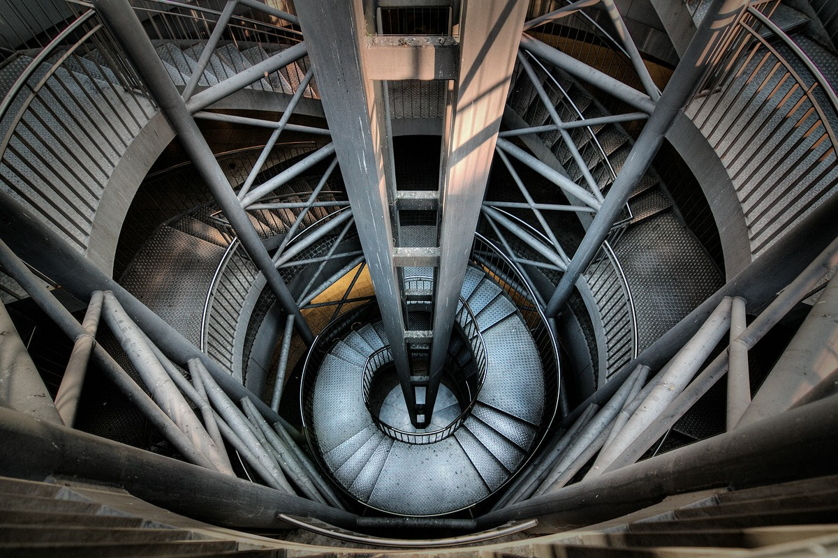 Photograph Steps to ... by Raum Blicke on 500px