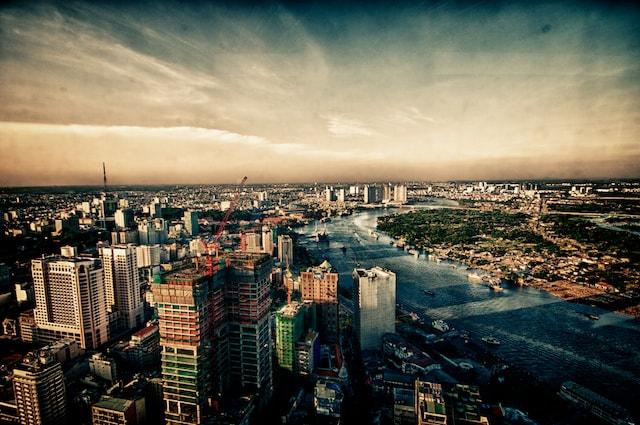 Photograph Enjoying the view from Skydeck, Ho Chi Minh City by Mads Monsen on 500px
