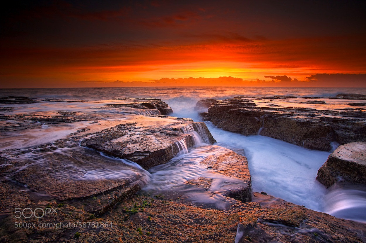 Photograph Narrabeen Inferno by Noval Nugraha on 500px