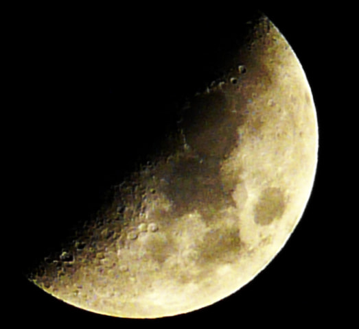 Photograph Half Moon by Senen Balatbat on 500px