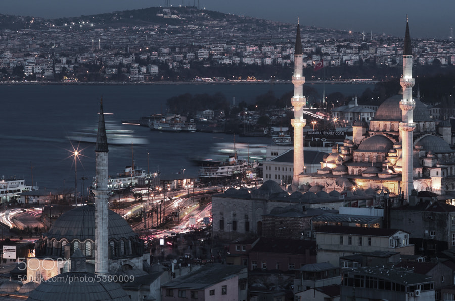 Photograph Istanbul &night  - 13 -   by e&e photography on 500px