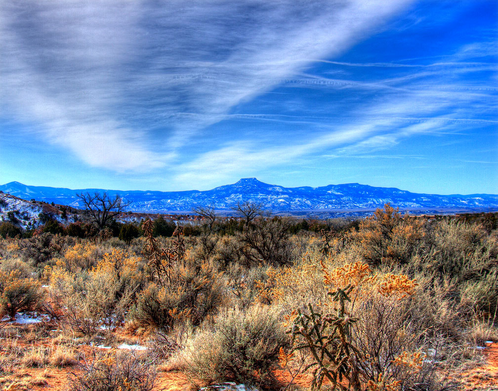 Photograph Mesa Perdenal from Ghost Ranch by Matthew J.  Valdez on 500px