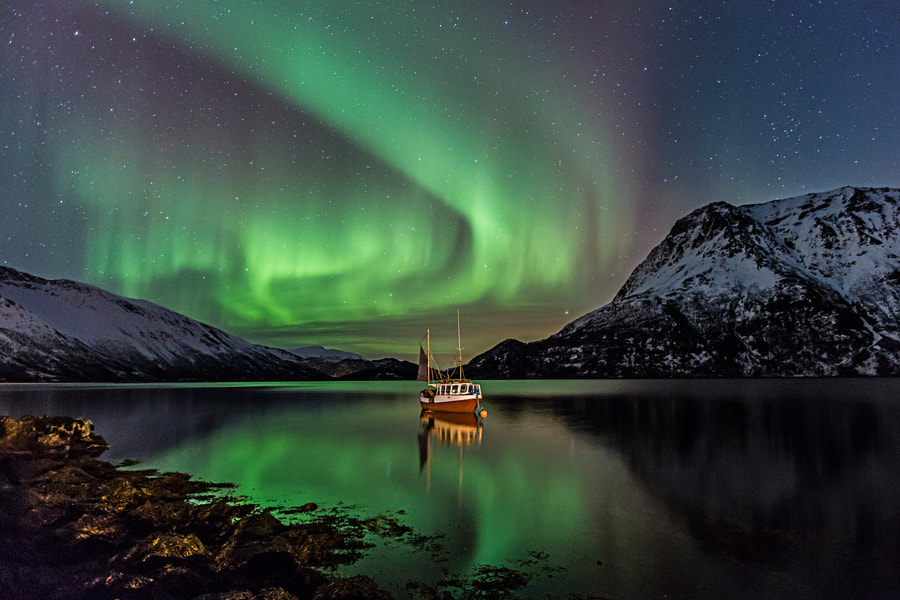 The fishing boat by Frank Olsen on 500px.com