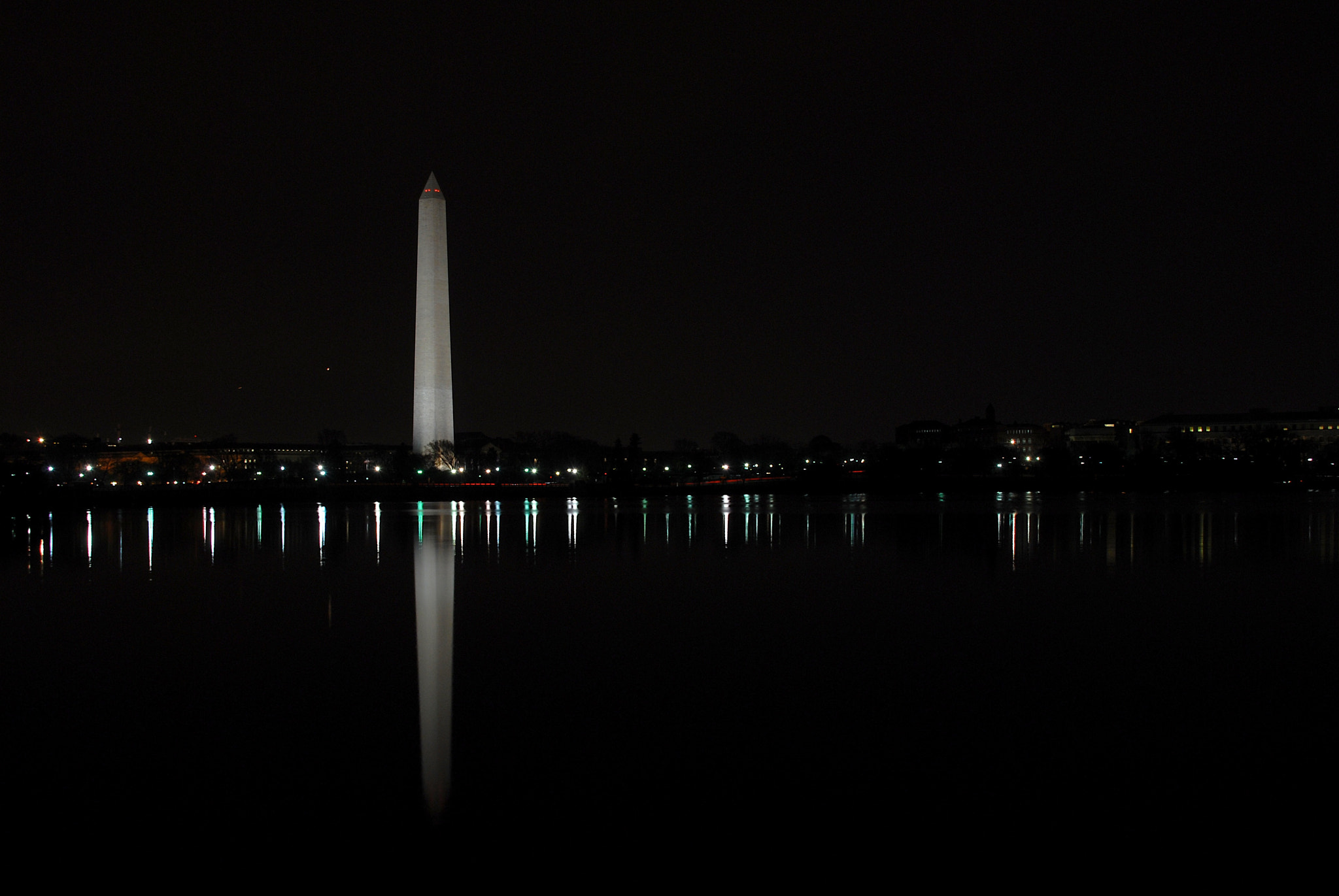 Photograph Washington Monument at Night by Airman Michael on 500px