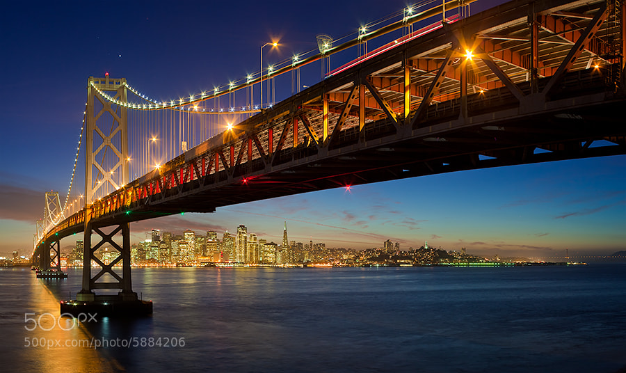 Photograph Bay Bridge by Oleg Ershov on 500px