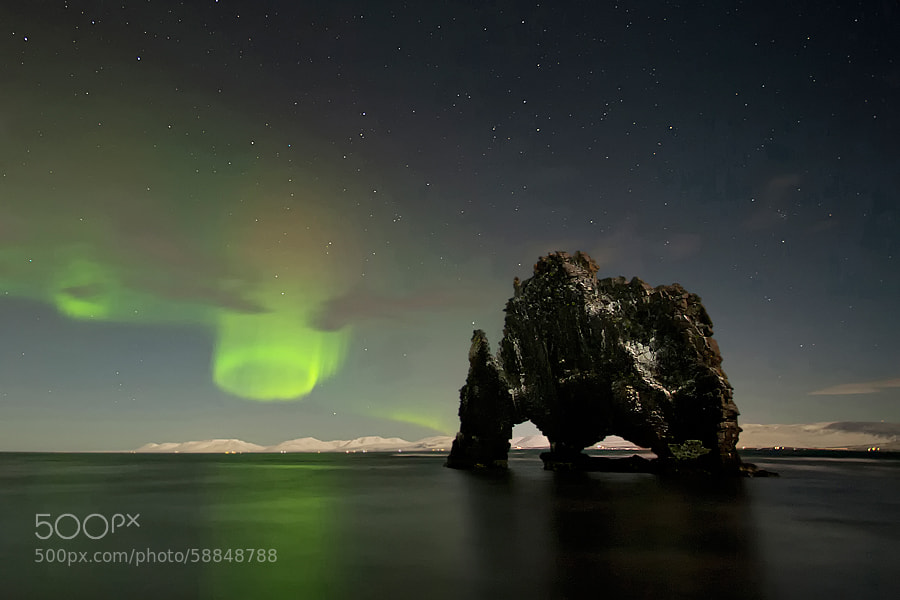 Photograph Aurora Twister by Þorsteinn H Ingibergsson on 500px