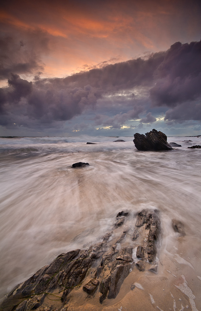 Photograph Crystal Cove Sunset by Matthew Kuhns on 500px
