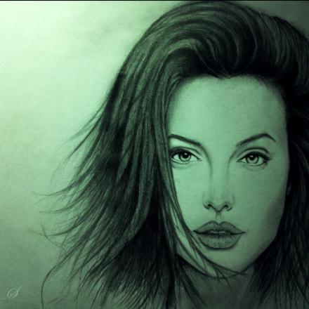 Angelina Jolie by MyniC_S