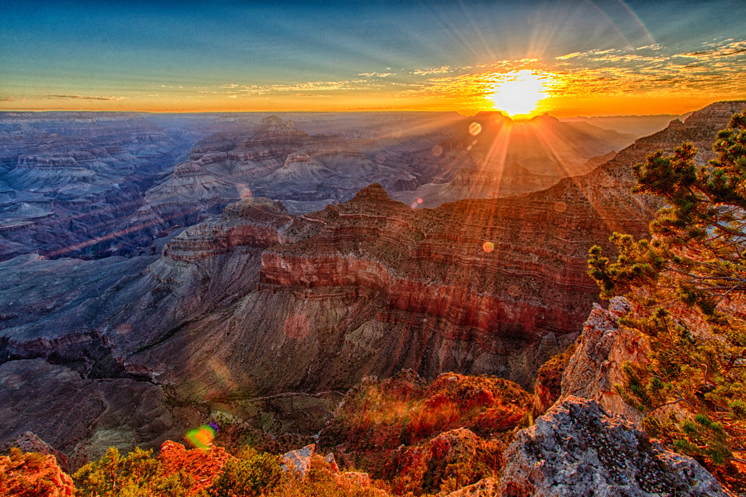 Image result for grand canyon sunrise