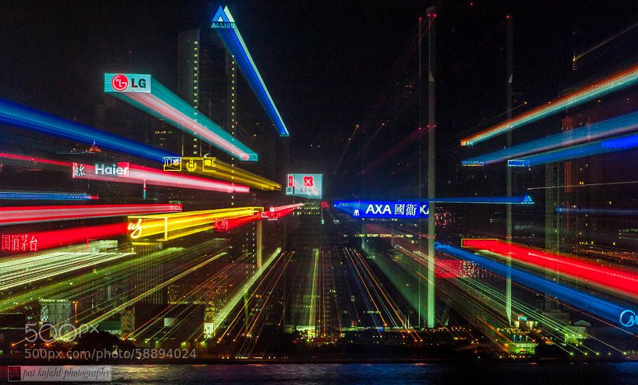 City Lights - Hong Kong by Pat Kofahl on 500px.com