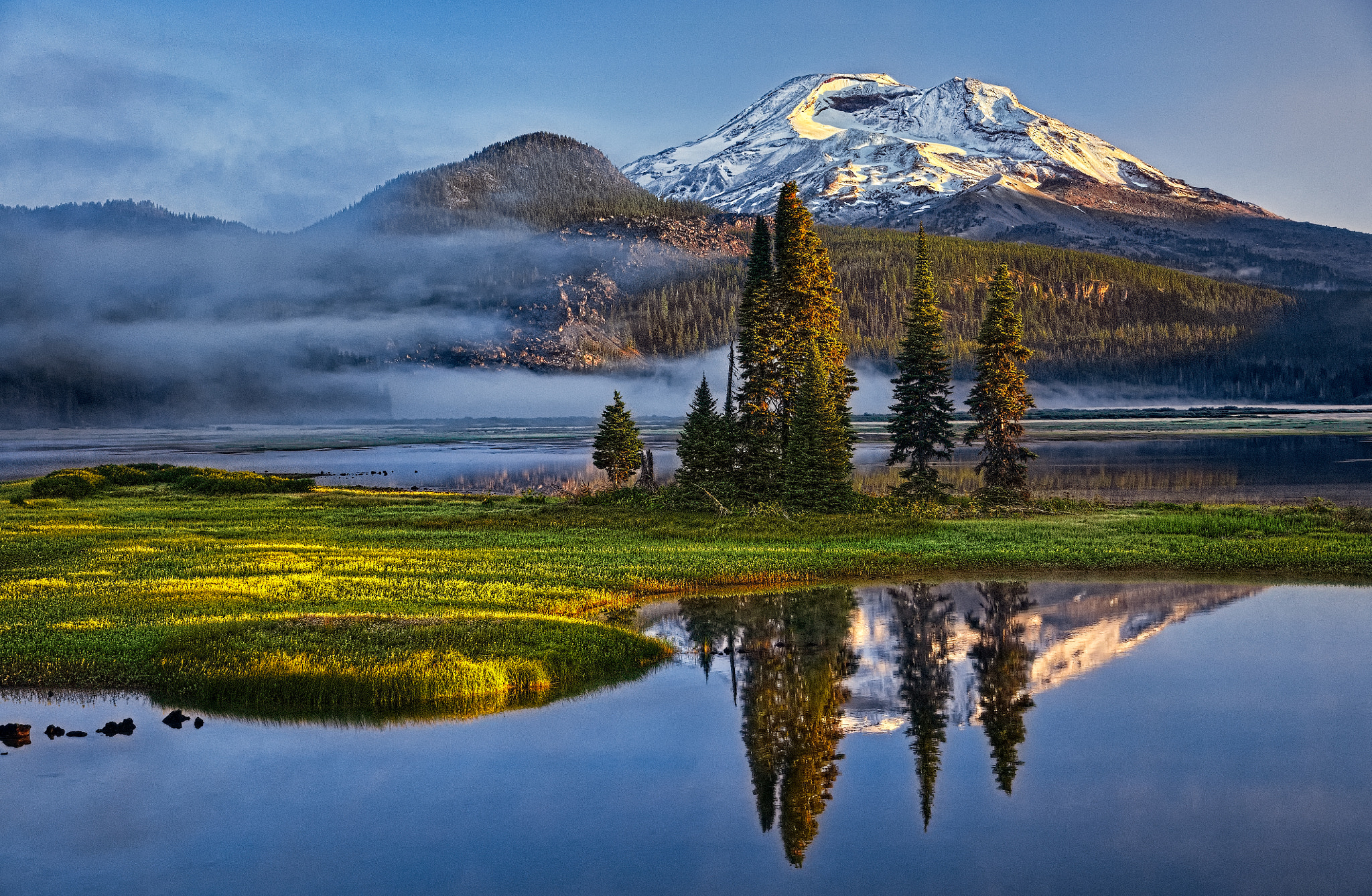 Photograph Sparks Lake Sunrise #4320 by Massimo Squillace on 500px