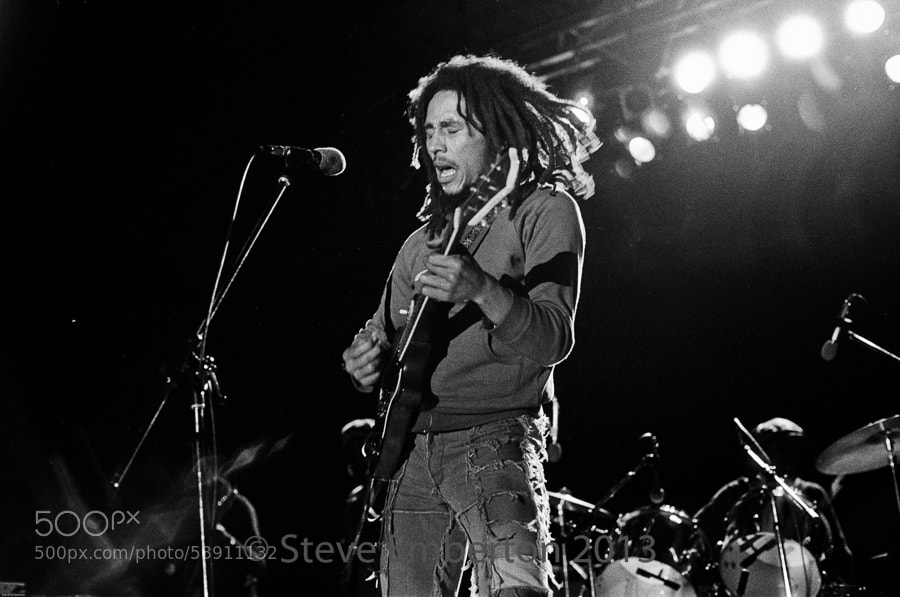 Photograph Bob Marley by Steve Emberton on 500px