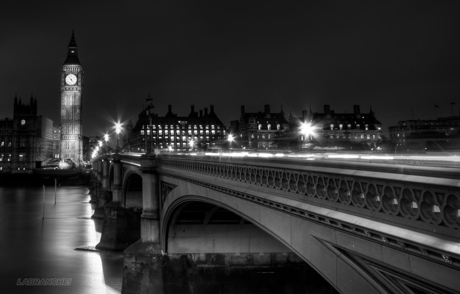 Photograph London night by Loic Labranche on 500px