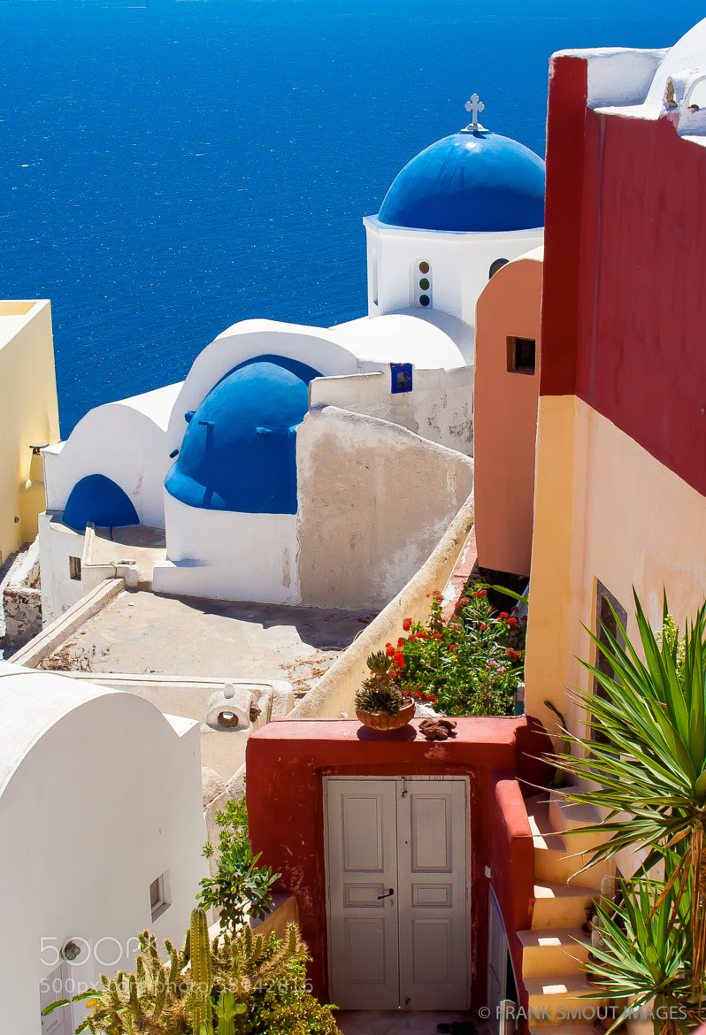 Photograph Colors of Santorini by Frank Smout Images on 500px