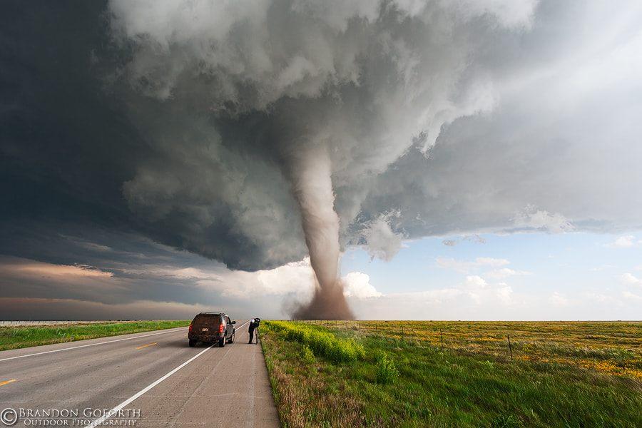 Incredible Campo, CO Tornado by Brandon Goforth on 500px.com