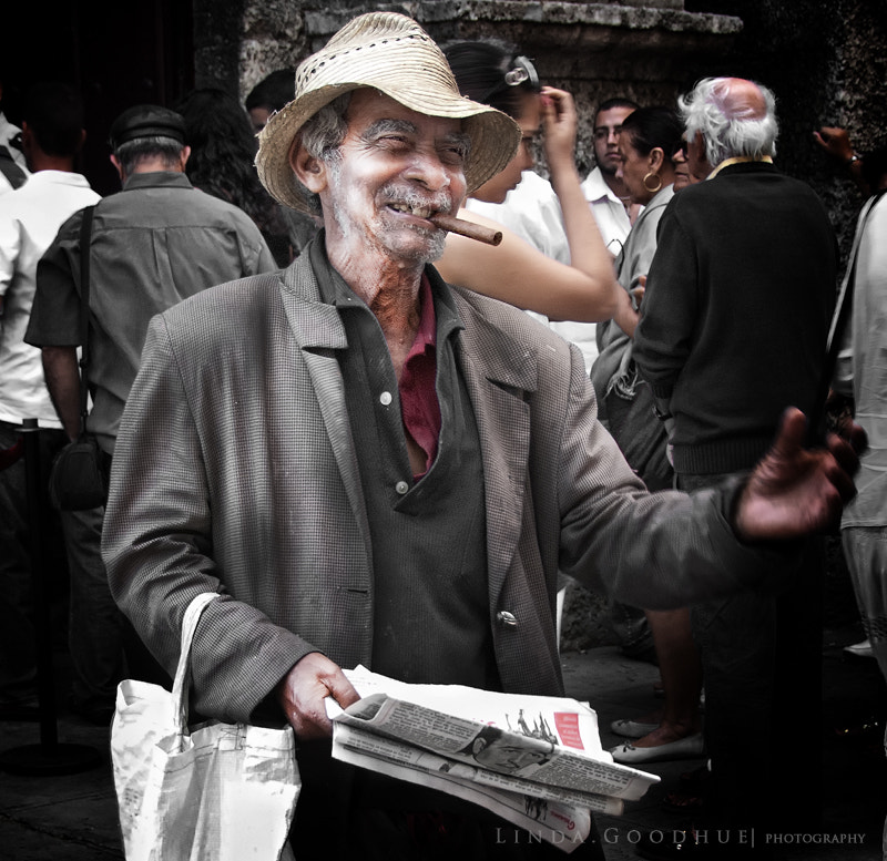Photograph Cuban character... by Linda Goodhue on 500px