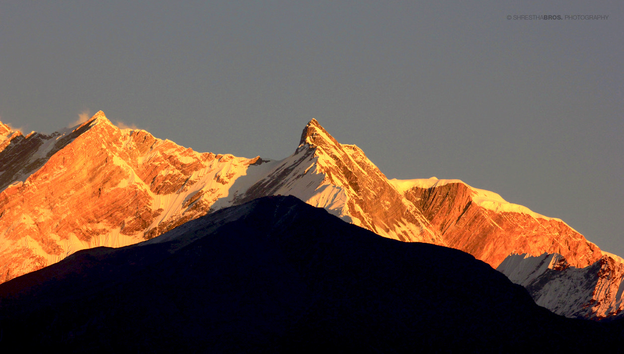 Photograph Annapurna Northwest Face from Lete by shresthabros on 500px