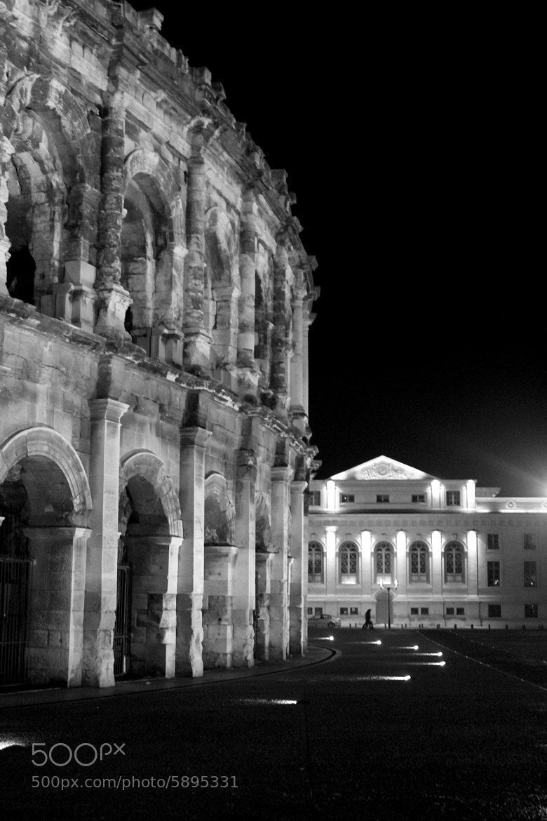 Photograph Nîmes By Night by Fla Vie on 500px