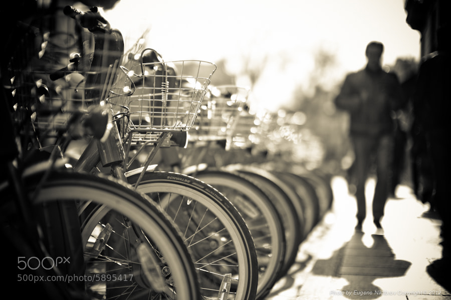 Photograph Bikes, Paris by Eugene Nikiforov on 500px
