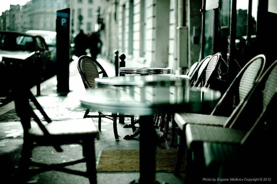 Photograph Chairs, Paris by Eugene Nikiforov on 500px