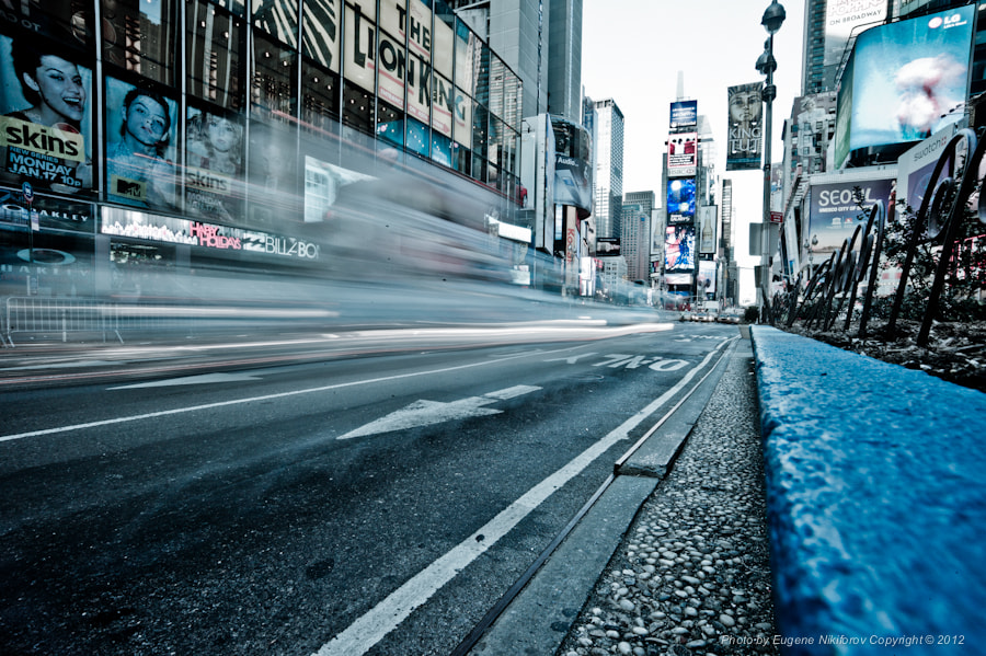 Photograph Times Square, New York by Eugene Nikiforov on 500px