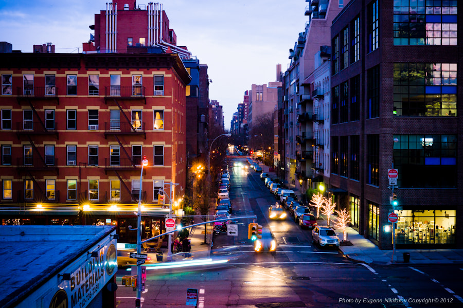 Photograph The High Line, Manhattan by Eugene Nikiforov on 500px