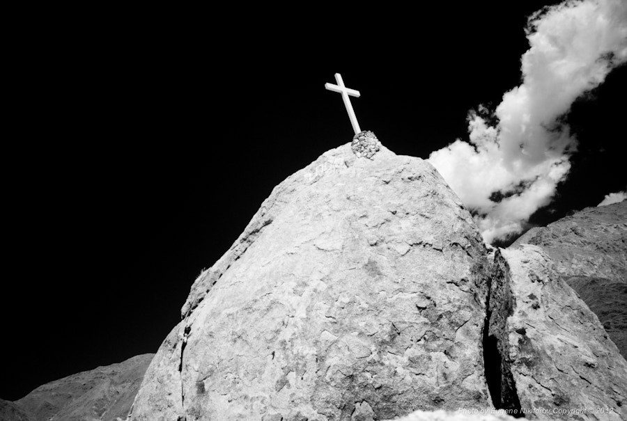 Photograph Cross on the mountain, La Paya - Valles Calchaquíes, Argentina by Eugene Nikiforov on 500px