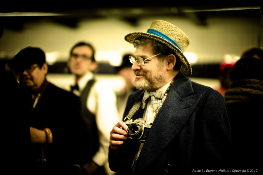 Photograph The Levys' Unique New York, Vintage Tea Party NYC Subway by Eugene Nikiforov on 500px