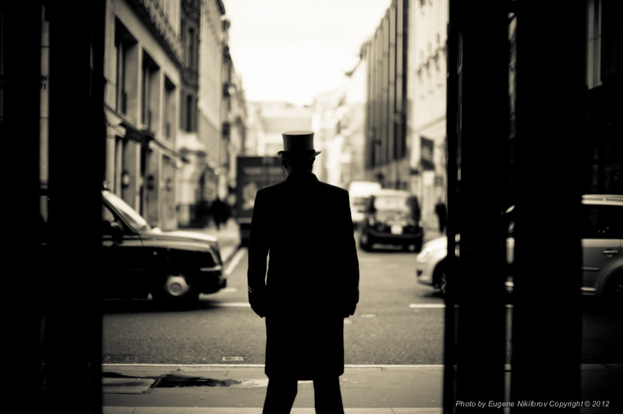 Photograph Doorman near Piccadilly. London by Eugene Nikiforov on 500px