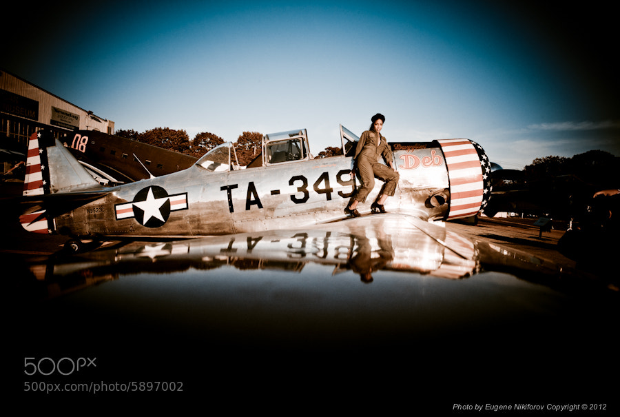 Photograph Ameican Air Power Museum, Pin Up & Airplanes by Eugene Nikiforov on 500px