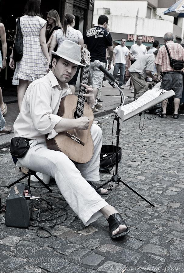 Photograph Mariachi,  Plaza Dorrego, Buenos Aires by Eugene Nikiforov on 500px