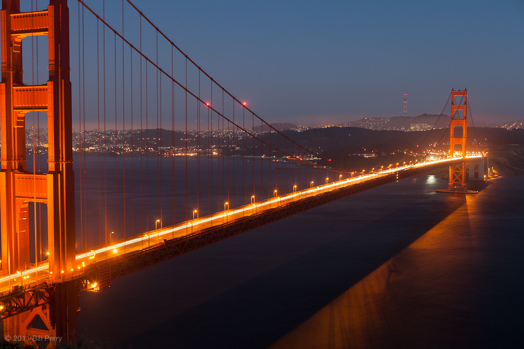 Photograph Traffic across the bridge by Bill Perry on 500px