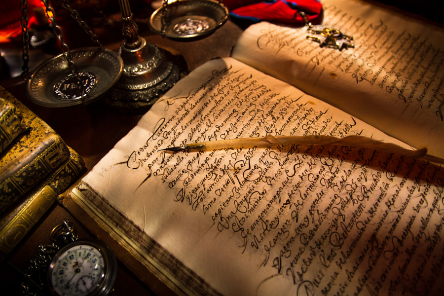 Photograph Old parchment by Miguel Angel Oliva on 500px