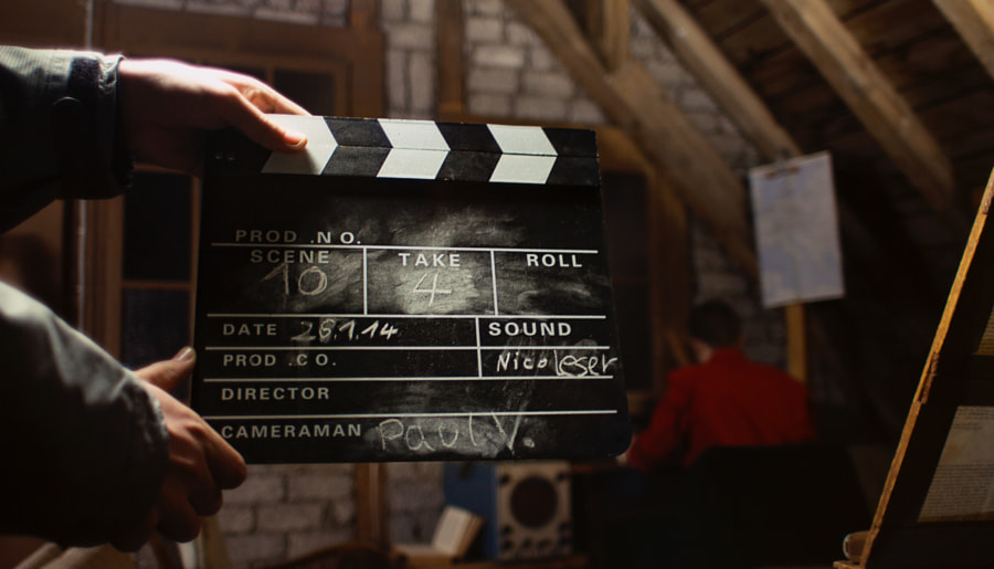 Film Slate by Paul-Vincent Roll on 500px.com
