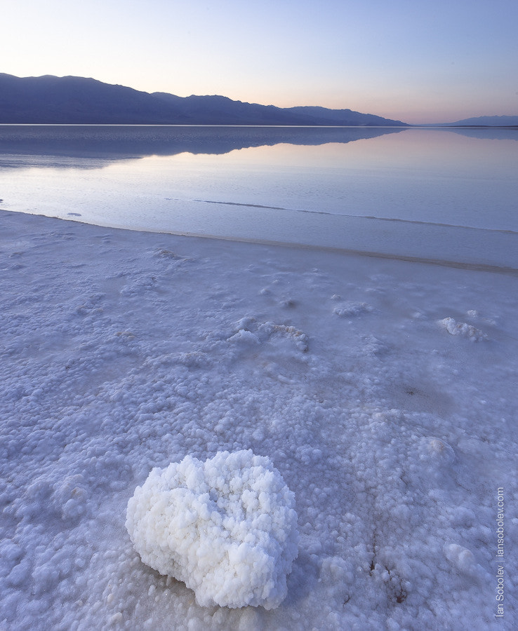 Photograph Blue Evening on the Badwater by Evgeny Tchebotarev on 500px