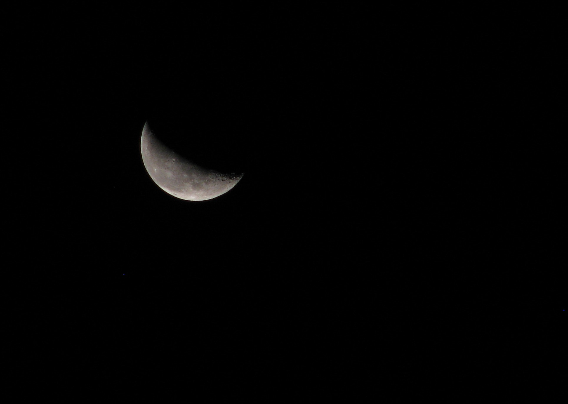 Photograph Another shy moon by Luis Aviles on 500px