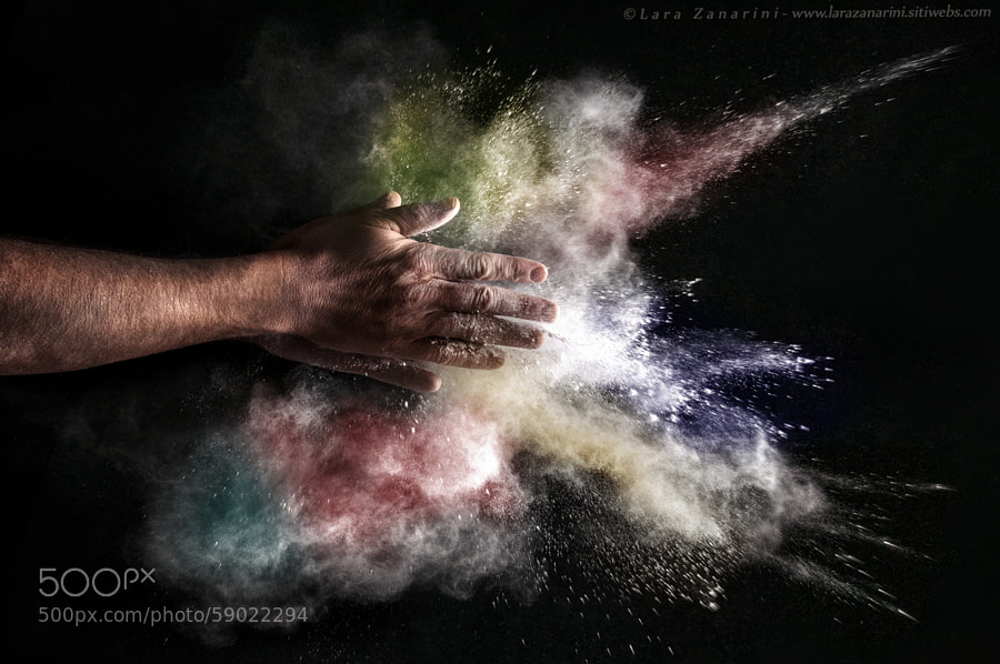 Photograph Explosion in my hands by Lara Zanarini on 500px