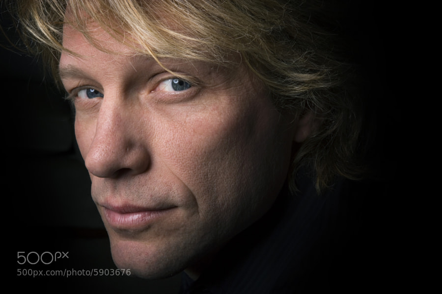 Jon Bon Jovi by John Chapple on 500px.com