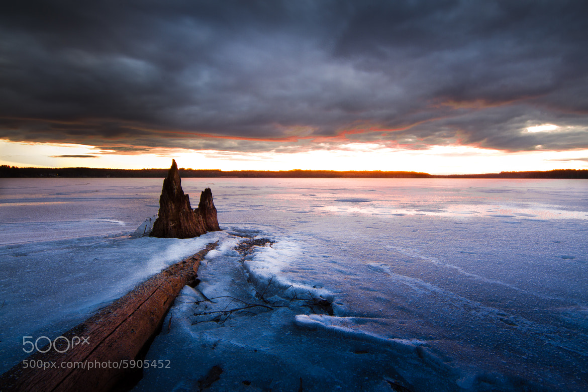 Photograph Frozen Lake by Paul Jolicoeur on 500px