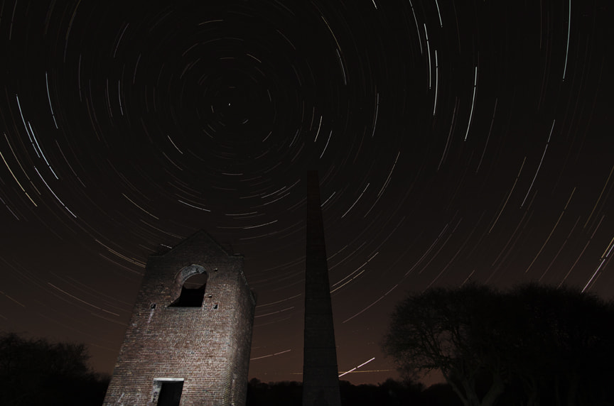 Photograph Star trail first attempt by ROBIN HORTON on 500px
