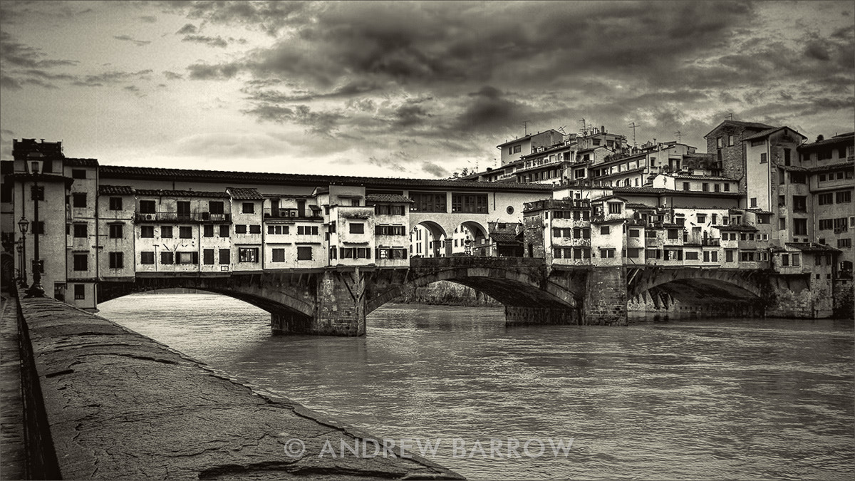 Photograph Ponte Vecchio, Florence by Andrew Barrow ARPS on 500px