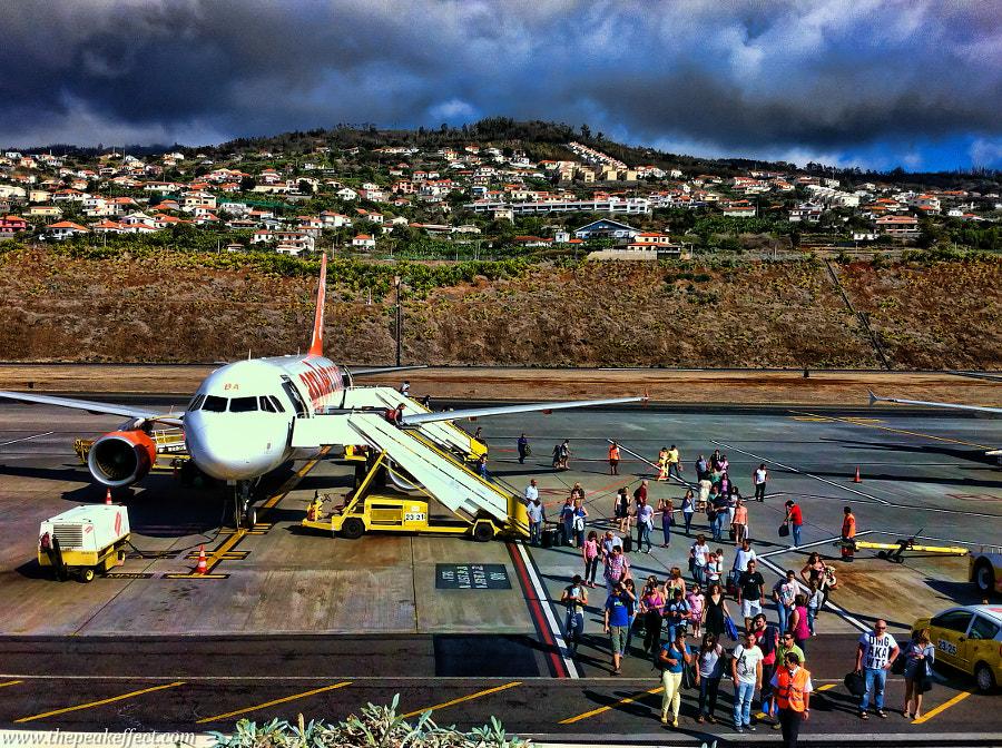 Photograph Funchal Airport by Donato Scarano on 500px