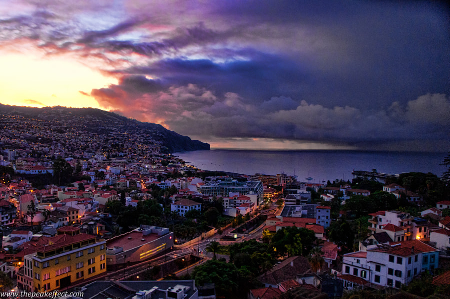 Photograph Funchal Sunset by Donato Scarano on 500px