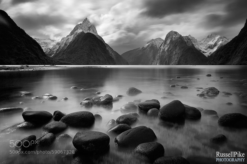 Photograph Milford Sound, Fiordland National Park, Southland, New Zealand by Russell Pike on 500px