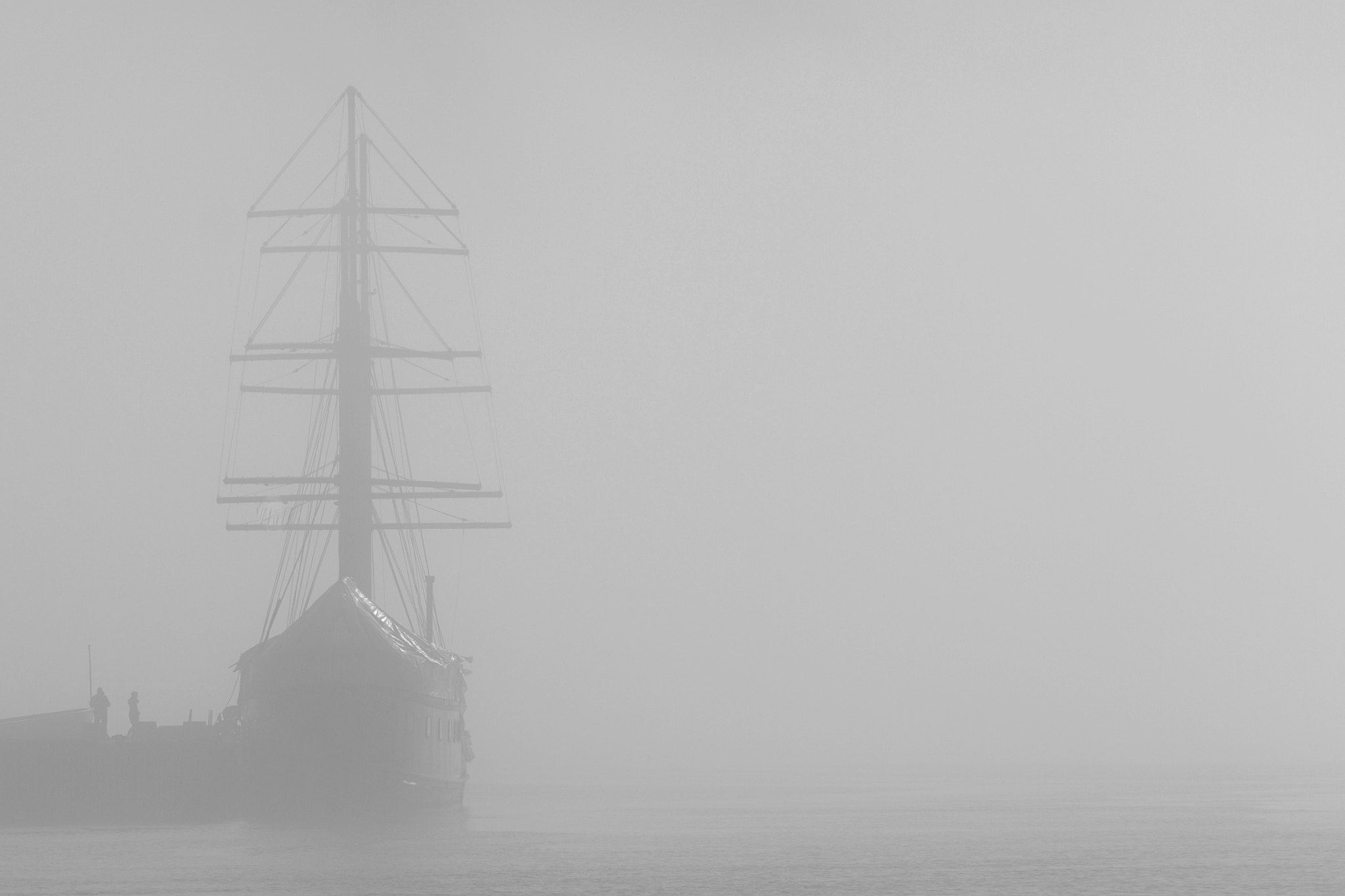Photograph Foggy ships II by Gerhard Emil Schjelderup on 500px