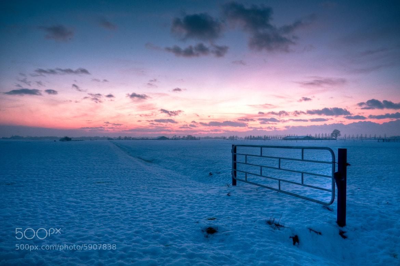Photograph Snowy Sky by Sam van Vlerken on 500px