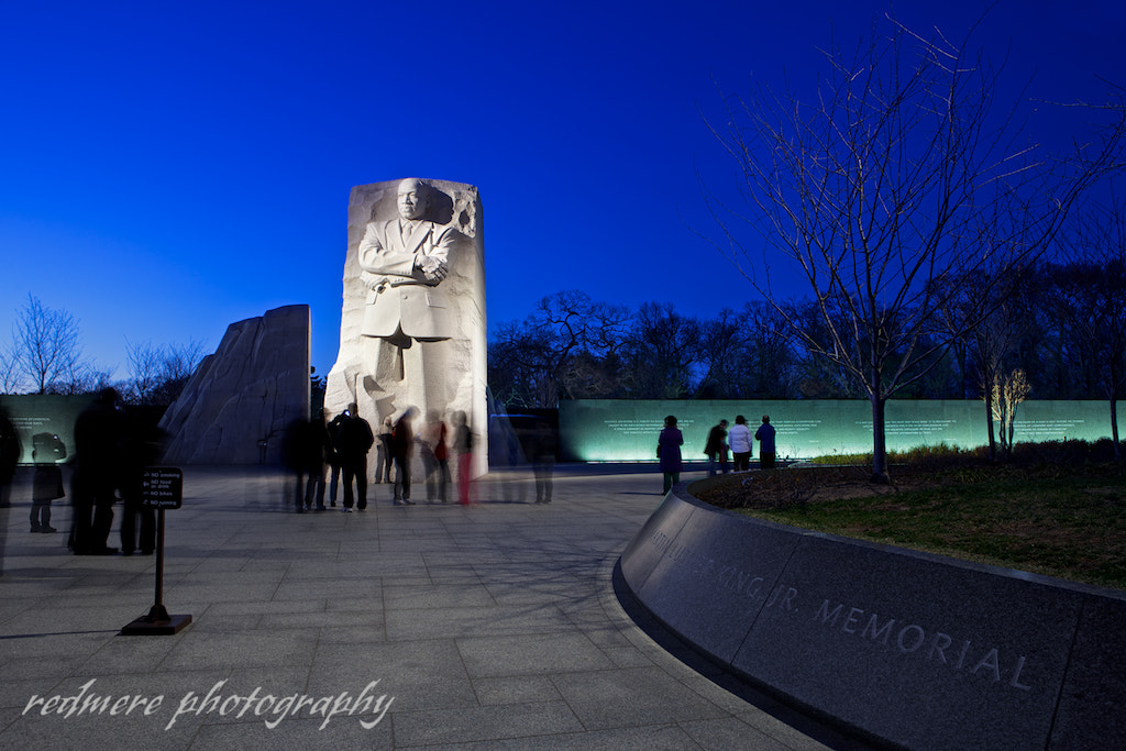 Photograph MLK Memorial at Dusk by Redmere Photography on 500px